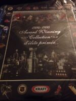 1994-95 Kraft Award Winning Collection Album NHL Set