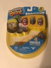 NEW Mighty Beanz Fortnite - 4 Pack Sealed (Style D)