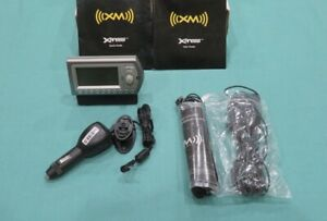 Audiovox Sirius XM Xpress 136-4773 Receiver + 2x Antenna, Dock, Power Cord
