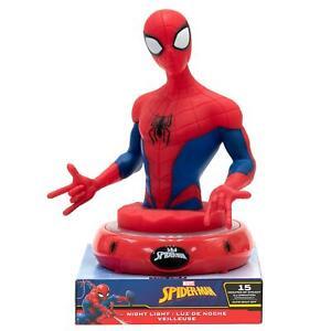 Spiderman Veilleuse LED À Piles Table Lampe Portable Marvel Avengers