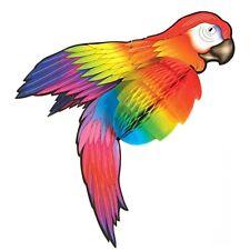 XXL PAPAGEI DEKO WABENBALL # Hawaii Karibik Südsee Party Vogel Dekoration 5066