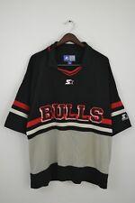 Mens Chicago Bulls STARTER Vintage 90s shirt  Big logo Size L
