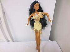 "1976 Mattel Disney marked 18"" Ethnic Pocohontas Doll-twist & Turn"