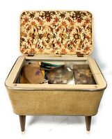 Vintage Sewing Box Full Of Sewing Items