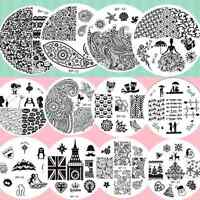 BORN PRETTY Nail Art Stamp Image Plate Stamping Template Manicure Decoration DIY