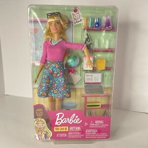 New Mattel Barbie Career - Teacher Doll Play set