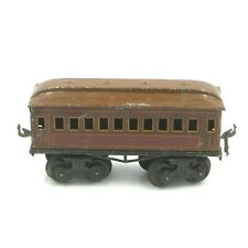 "Bing Train ""O"" Gauge 1912 - 1926 Eight-Wheeled Passenger Coach w/ Company Stamp!"