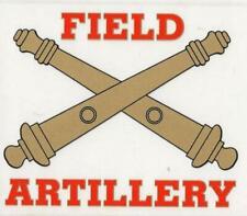 Field Artillery Decal - Outside Application