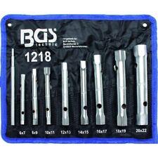 Rohr Steckschlüssel Satz 8 Teile Rohrschlüssel Werkzeug Set SW 6-22 mm Schlüssel