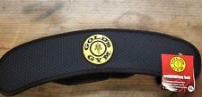 Golds Gym Weight Lifting Belt Ergonomic Contoured Back