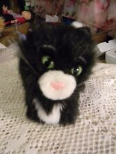 American Girl doll Doll -black cat with poseable tail & rhinestone collar