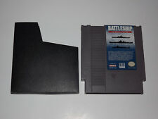 Original Nintendo NES Battleship Game with Sleeve & Guarantee