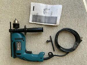 Makita Hammer Drill HP1640 13.2 Amp 5/8 Concrete 1/2 Steel