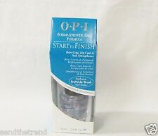 OPI Nail Treatment - Start To Finish 3 in 1 FORMALDEHYDE FREE Formula .5oz/15ml