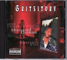 GRITSITORY • SHATTERED DREAMS • new CD • ship free in US, WW shipping available!