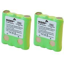 2-Pack HQRP Battery for Cobra PR945 PR950-DX PR1050-WX PR1100-WX PR3000-DX