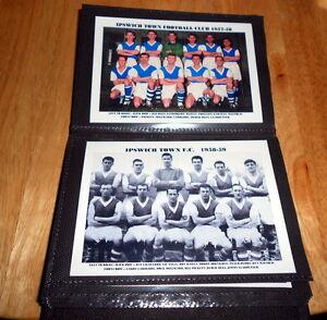 IPSWICH TOWN FOOTBALL CLUB Photo Album (1948-1963)
