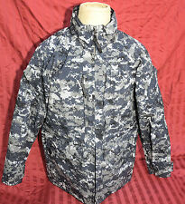 US Navy NWU Digital Camouflage Gore-tex Parka Jacket SMALL REGULAR