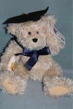 Tag Alongs by PBC Graduation Teddy Bear w/ glasses NEW