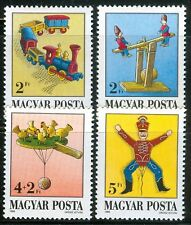 Hungary - 1988.Antique Toys Cpl. Set Mnh!