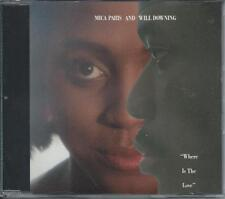 MICA PARIS & WILL DOWNING - Where is the love CDM 4TR UK 1989