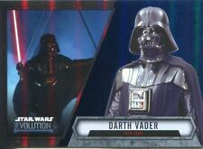 Star Wars Evolution 2016 Blue Parallel Card #7 Darth Vader - Sith Lord