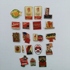 Coca-Cola Variety Pins (Set of 20) - FREE SHIPPING
