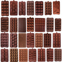 3D Silicone Chocolate Mold Candy Cookie Fondant Cake Baking Mould Party Decor