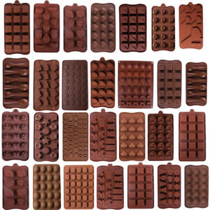 3D Silicone Chocolate Mold Candy Cookie Fondant Cake Baking Mould Decoration HOT