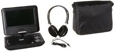 Portable DVD Player Certified Refurbished Dual Screen Car Stereo Audio Genuine