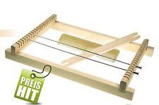 Marcos Web kinderwebrahmen madera natural con peine + lanzadera 29cm x 18,5cm x 3,2cm