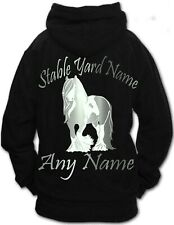 Time Spent Horse Riding Hoodie Personalised Funny Ideal Birthday Gift Rider