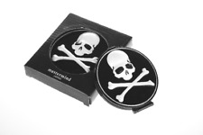 Mastermind Japan 3D Skull Makeup Cosmetic Folding Portable Pocket Compact Mirror