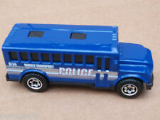 Matchbox 04 SCHOOL BUS from 5 Pack LOOSE Blue POLICE INMATE Wheel Variation