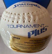 Spalding Tournament Plus Softball Vintage Nos 1 to 36 balls.