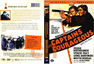 Captains Courageous (1937) - Rudyard Kipling  DVD NEW