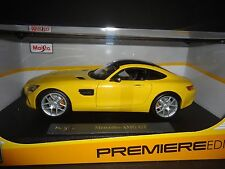 Maisto Mercedes Benz AMG GT 2015 Yellow 1/18