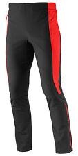Men's Trousers Salomon Momentum Softshell Pant M, Black/Red, EAN 0887850247294