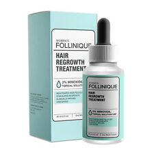 FOLLINIQUE Hair ReGROWTH Treatment, FDA Approved Clinical 2 percent Minoxidil