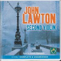 John Lawton Second Violin 13CD Audio Book Unabridged Inspector Troy 6 Thriller