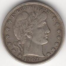 1902 États-Unis, Barber Half Dollar *** collector ***