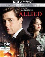 Allied [New 4K UHD Blu-ray] With Blu-Ray, 4K Mastering, Ac-3/Dolby Digital, Di