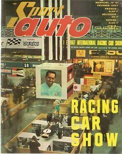 SPORT AUTO 61 1967 RACING CAR SHOW JAGUAR 420 AUTOBIANCHI PRIMULA GP AFRIQUE SUD
