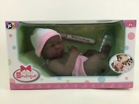 "Berenguer Boutique Vinyl Doll New JC Toys AA Black 14"" Girl"
