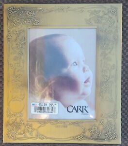 """Carr Engraveable Baby Arrival Name Weight Length Baby Photo Frame 3"""" x4"""" Photo"""