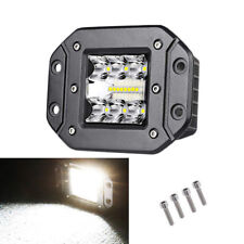 Spot Flood Car Truck Bumper Flush Mount LED Work Light 120W SUV Reverse Lamp 1x