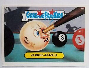 GARBAGE PAIL KIDS 11A JARRED JARED W GPK GOLD STICKER CHECKLIST GPK-26