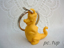 Porte clés Tupperware (keychain) Dinosaure jaune Douglas
