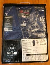 Hayabusa Shinju Pearl Weave Jiu Jitsu Gi Blue Size A4 - Free Shipping