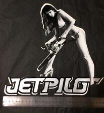 """Sticker JetPilot Chain Saw Decal 12"""" - or - 29cm x 29cm - jetski - PWC - wake"""